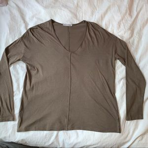 green Zara women's long sleeve
